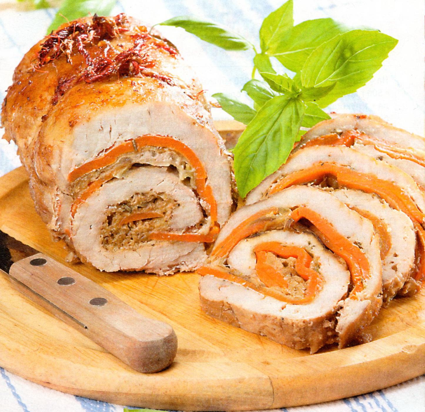 Рецепт мясного рулета из свинины - пошаговый рецепт с фото 55