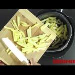 Жареный картофель с шампиньонами в мультиварке