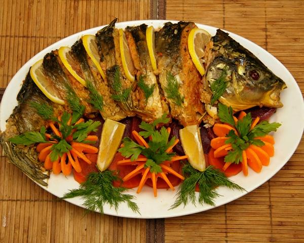 Рыба на праздничном столе рецепты