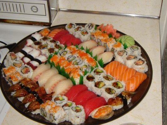 суши домашние рецепт пошагово